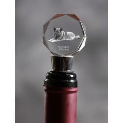 Crystal Wine Stopper con il cane, Vino e Amanti di cani, di alta qualità, regalo eccezionale
