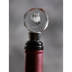 Crystal Wine Stopper with Cat, Wine and Cat Lovers, High Quality, Exceptional Gift