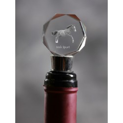 Crystal Wine Stopper with Horse, Wine and Horse Lovers, High Quality, Exceptional Gift