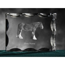 Mustang , Cubic crystal with horse, souvenir, decoration, limited edition, Collection