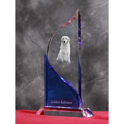 Crystal statue in the likeness of the dog