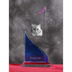 Crystal statue in the likeness of the cat