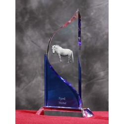 Appaloosa- crystal statue in the likeness of the horse